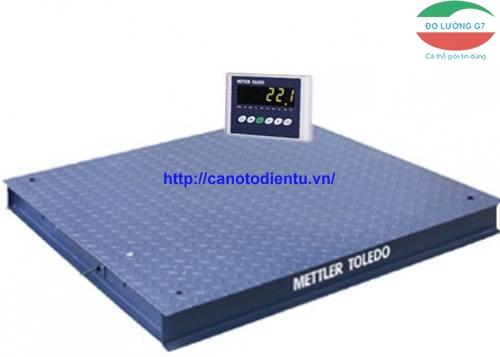 Cân sàn điện tử 2 tấn nguyên bộ