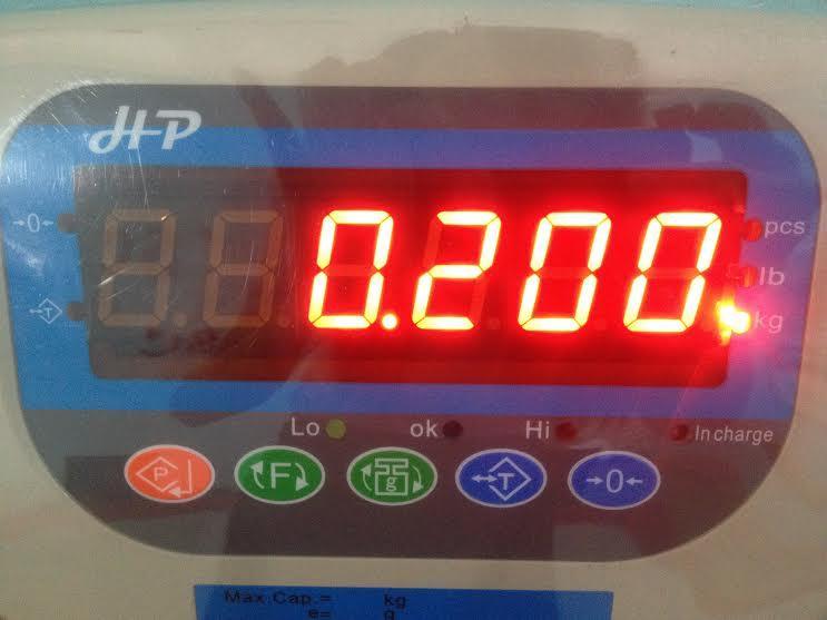 CÂN BÀN ĐIỆN TỬ HP 30kg, 50kg, 100kg, 150kg, 200kg, 300kg