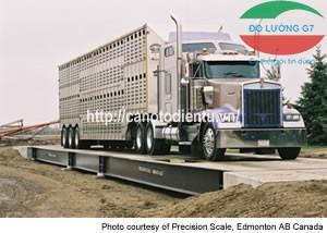 Cầu cân điện tử 60 tấn | Cầu cân ô tô 60 tấn