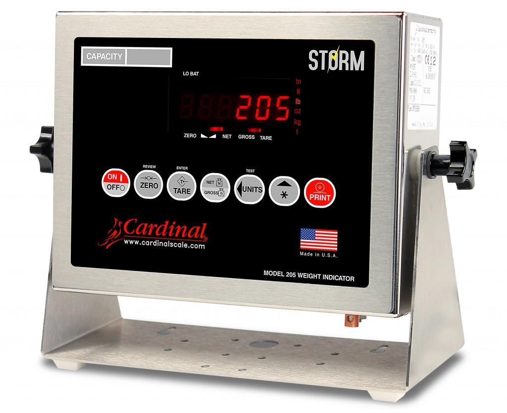 Bộ chỉ thị Cardinal 205 Storm - Indicators 205 Storm - USA