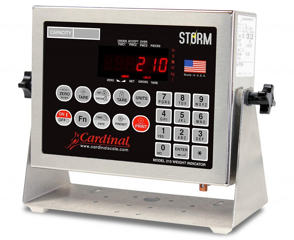 Bộ chỉ thị Cardinal 210 Storm - Indicators 210 Storm - USA