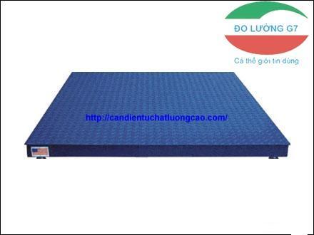 Cân sàn giá rẻ YHT6 – Yaohua. Từ 1 ,2,3,5 tấn